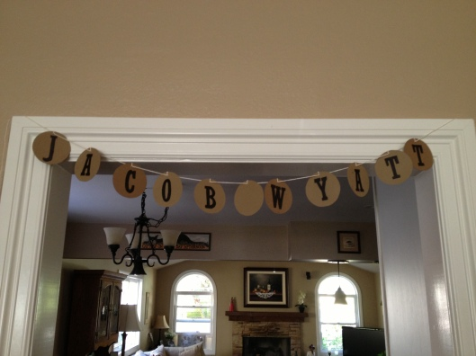 jacob name banner